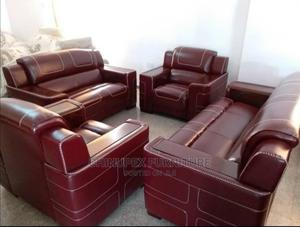 High Quality Italian Leather Sofa/Chair 7 Seaters | Furniture for sale in Lagos State, Ojo