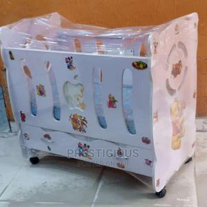 White Baby Cot | Children's Furniture for sale in Lagos State, Surulere