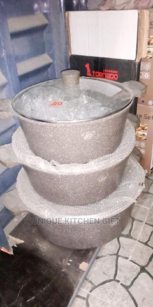 3pcs Granite Pot | Kitchen & Dining for sale in Lagos State, Lagos Island (Eko)