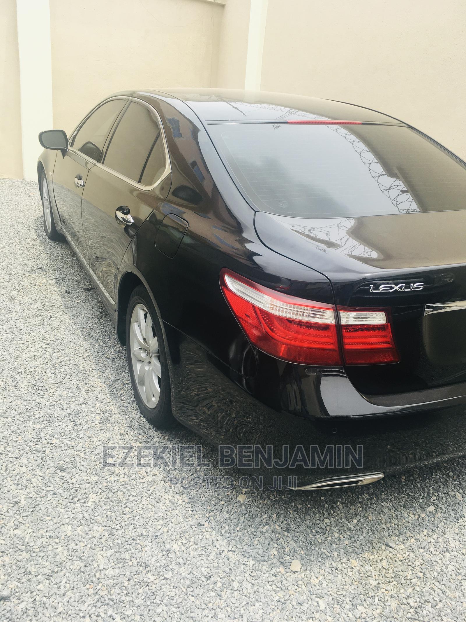 Lexus LS 2008 460 Black | Cars for sale in Ojodu, Lagos State, Nigeria