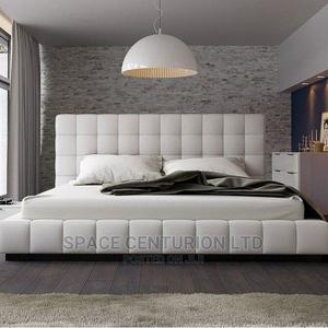 Queen Sized Fully Upholstered Bed | Furniture for sale in Lagos State, Ipaja