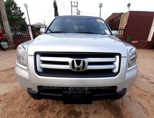 Honda Pilot 2006 EX-L 4x4 (3.5L 6cyl 5A) Silver | Cars for sale in Lagos State, Ikorodu