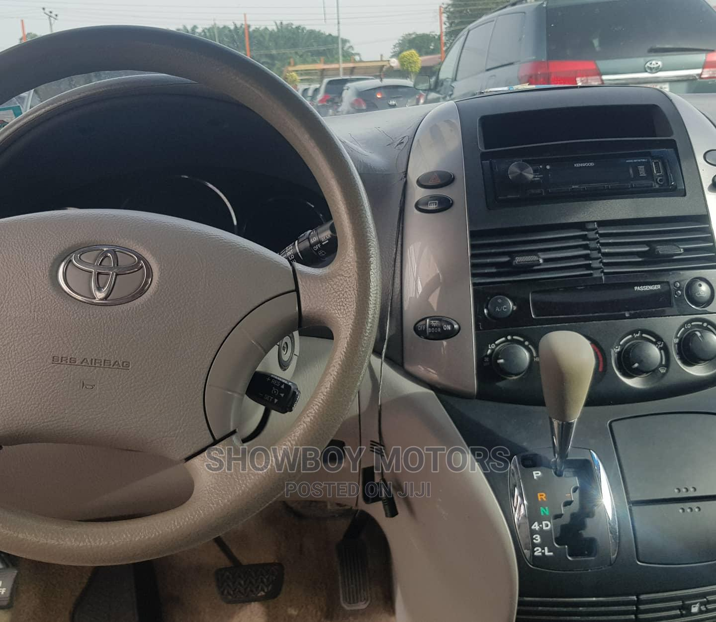 Toyota Sienna 2007 LE 4WD Red   Cars for sale in Akure, Ondo State, Nigeria