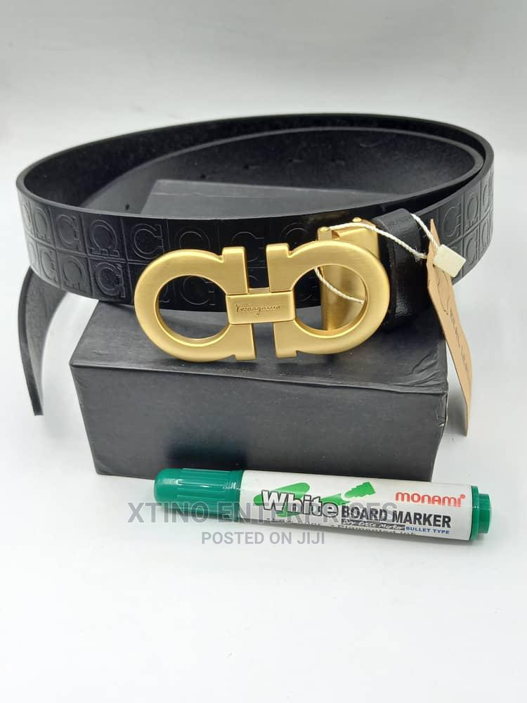 Salvatore Ferragamo Leather Belt Original