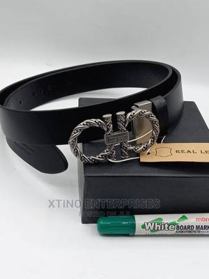 Salvatore Ferragamo Leather Belt Original | Clothing Accessories for sale in Lagos State, Surulere