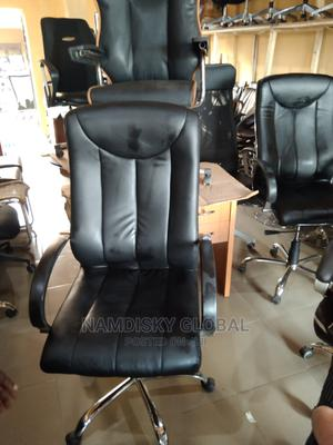 Executive Black Office Chair | Furniture for sale in Lagos State, Surulere