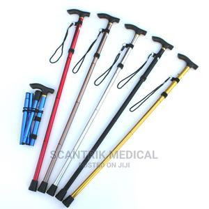 Aluminum Fashion Cane Elderly Walking Stick Traveling Cane   Medical Supplies & Equipment for sale in Abuja (FCT) State, Kubwa