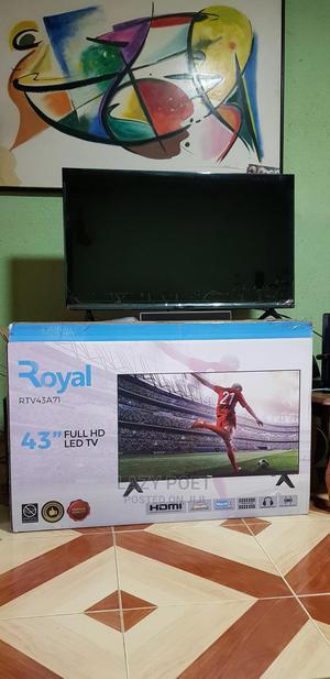 "43"" Royal TV   TV & DVD Equipment for sale in Lagos State, Alimosho"