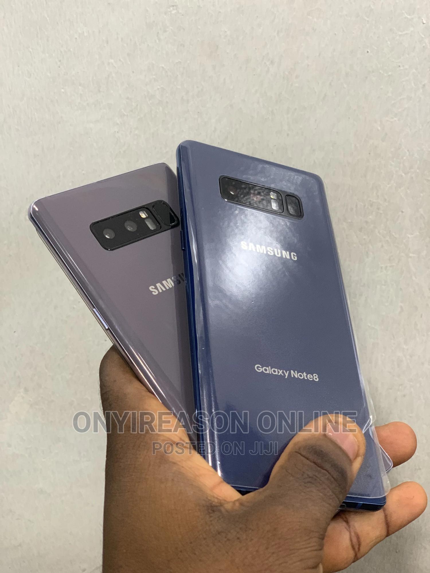 Samsung Galaxy Note 8 64 GB Blue   Mobile Phones for sale in Ikeja, Lagos State, Nigeria