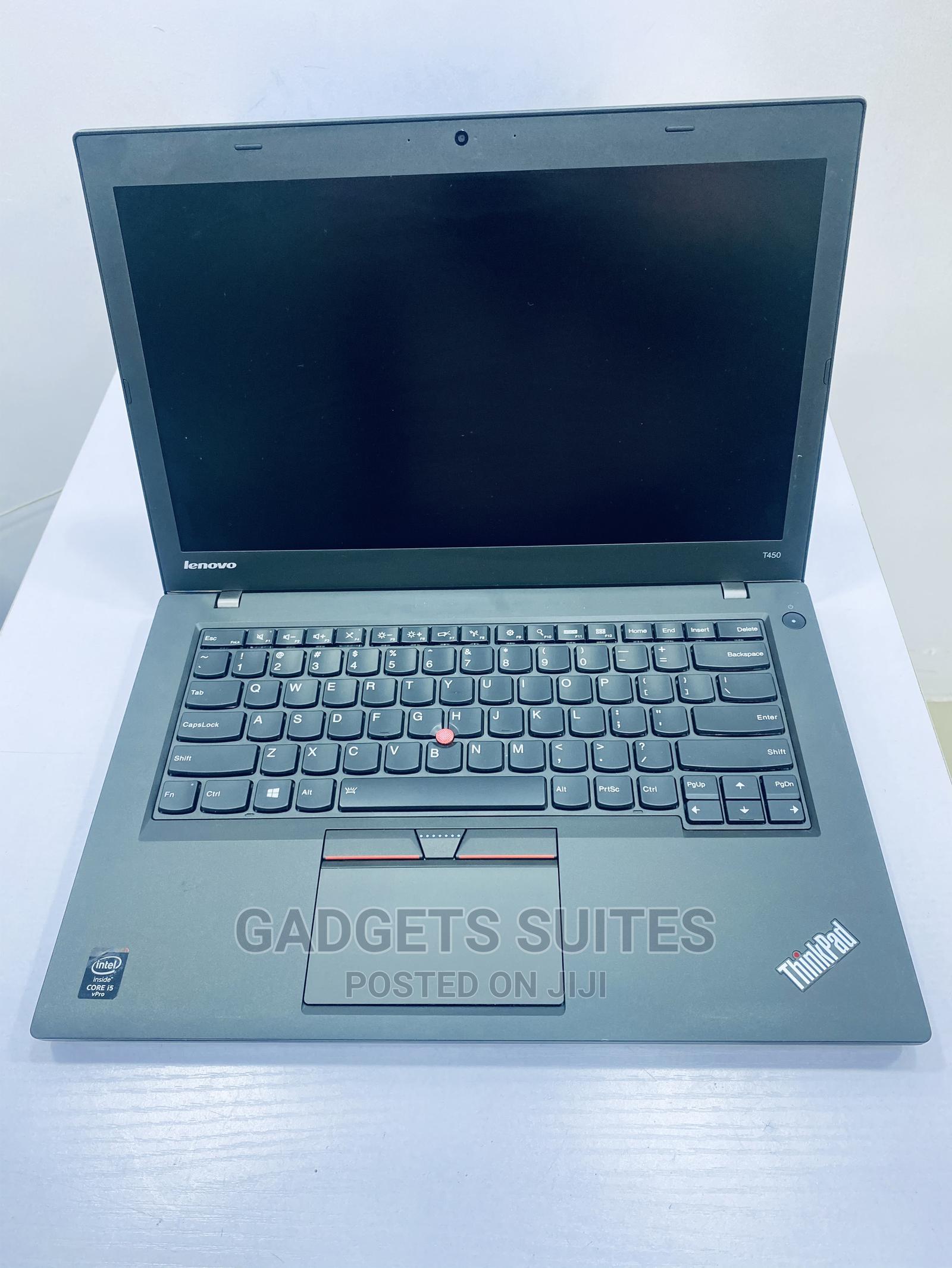 Laptop Lenovo ThinkPad T450 8GB Intel Core I5 HDD 500GB