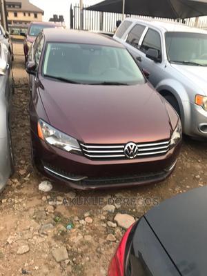 Volkswagen Passat 2014 Red   Cars for sale in Lagos State, Ikeja