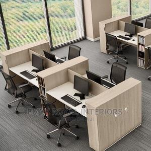Quality Office Workstation Table   Furniture for sale in Abuja (FCT) State, Central Business Dis