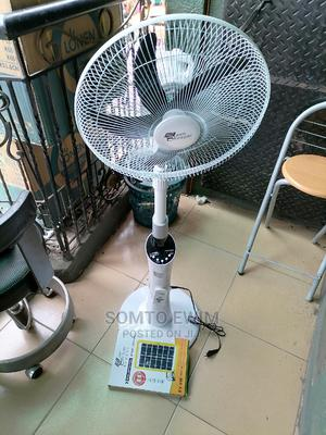 Standing Fan With Solar Panels With USB Out   Home Appliances for sale in Lagos State, Lagos Island (Eko)