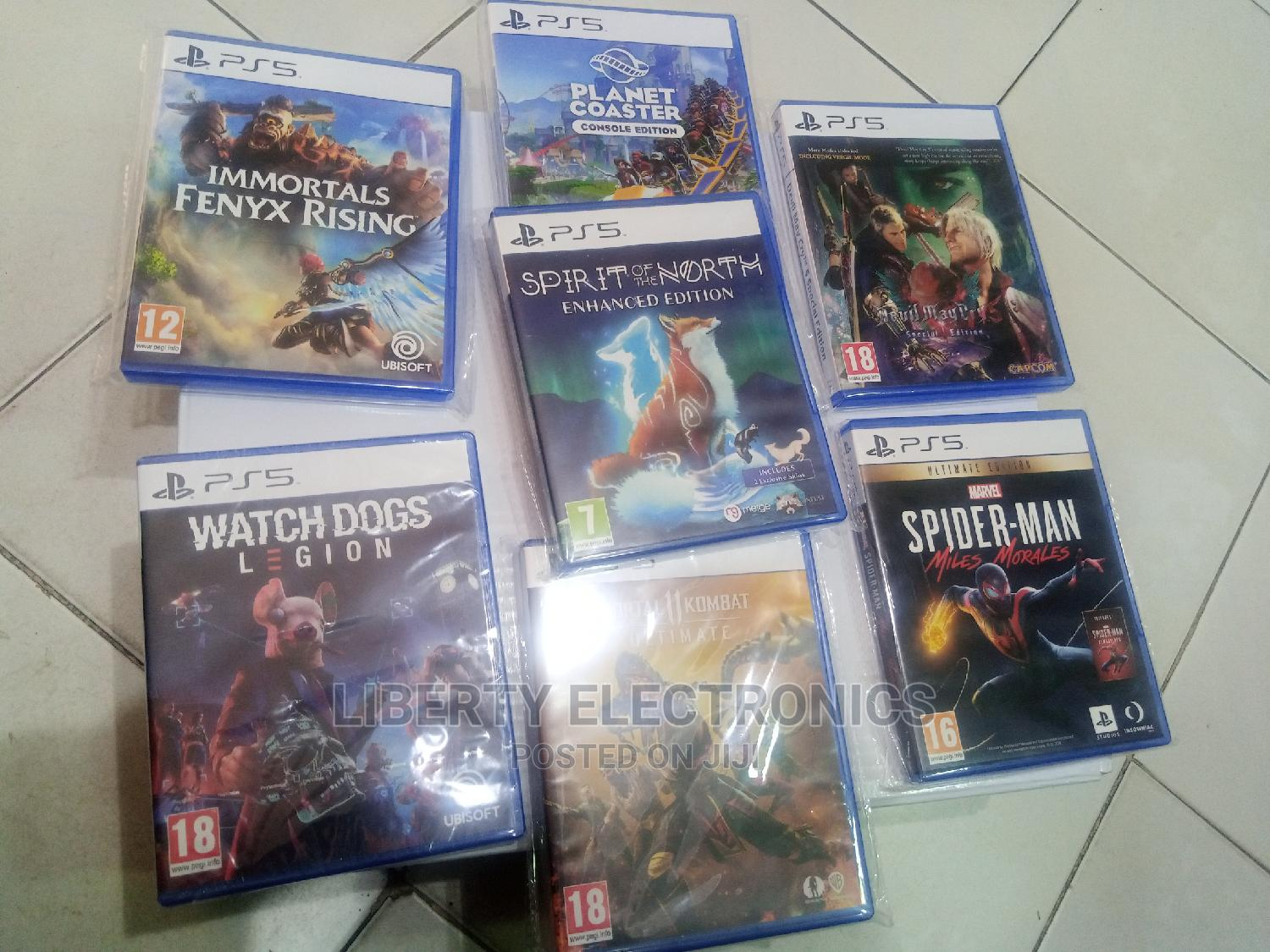 Ps5 Cd Games: Spirit of the North | Video Games for sale in Gwarinpa, Abuja (FCT) State, Nigeria