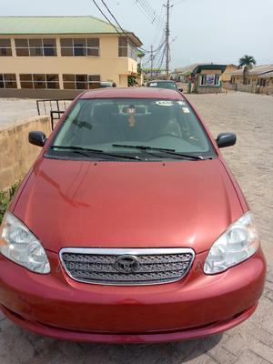 Toyota Corolla 2006 LE Red | Cars for sale in Ogun State, Obafemi-Owode
