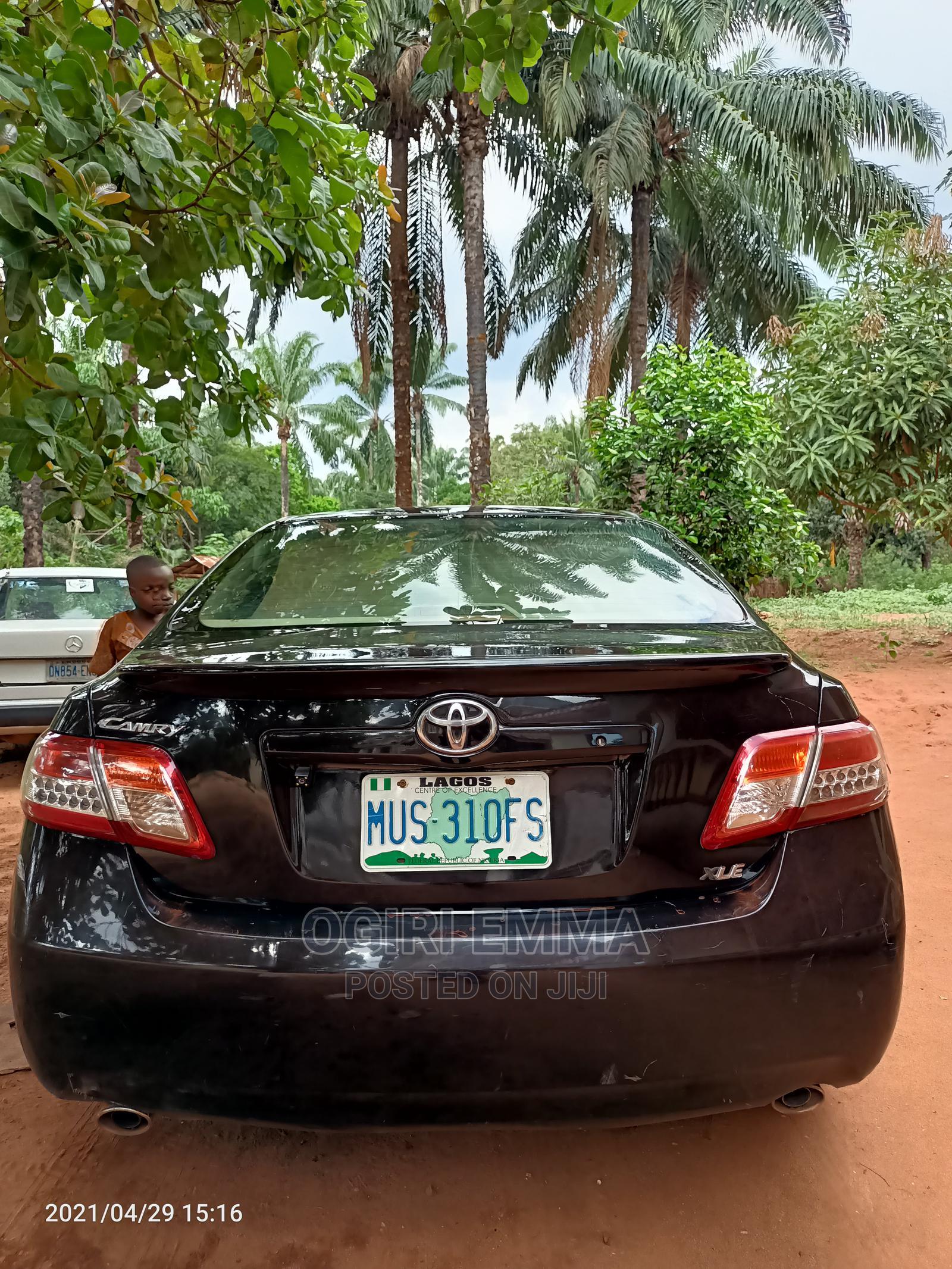 Toyota Camry 2010 Black | Cars for sale in Nsukka, Enugu State, Nigeria