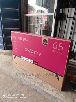 "Brand New LG 65""Inch 4K UHD Netflix+Wi-Fi SMART TV+Bracket | TV & DVD Equipment for sale in Lagos State, Ikeja"