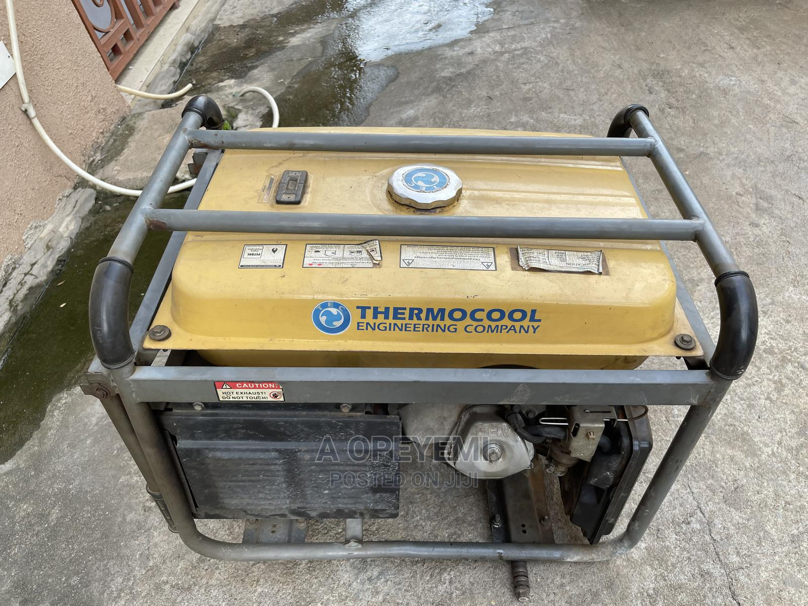 5.5kva Used Thermocool Generator for Sale | Home Appliances for sale in Agege, Lagos State, Nigeria