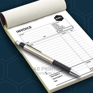 Invoice/Receipt   Printing Services for sale in Lagos State, Shomolu