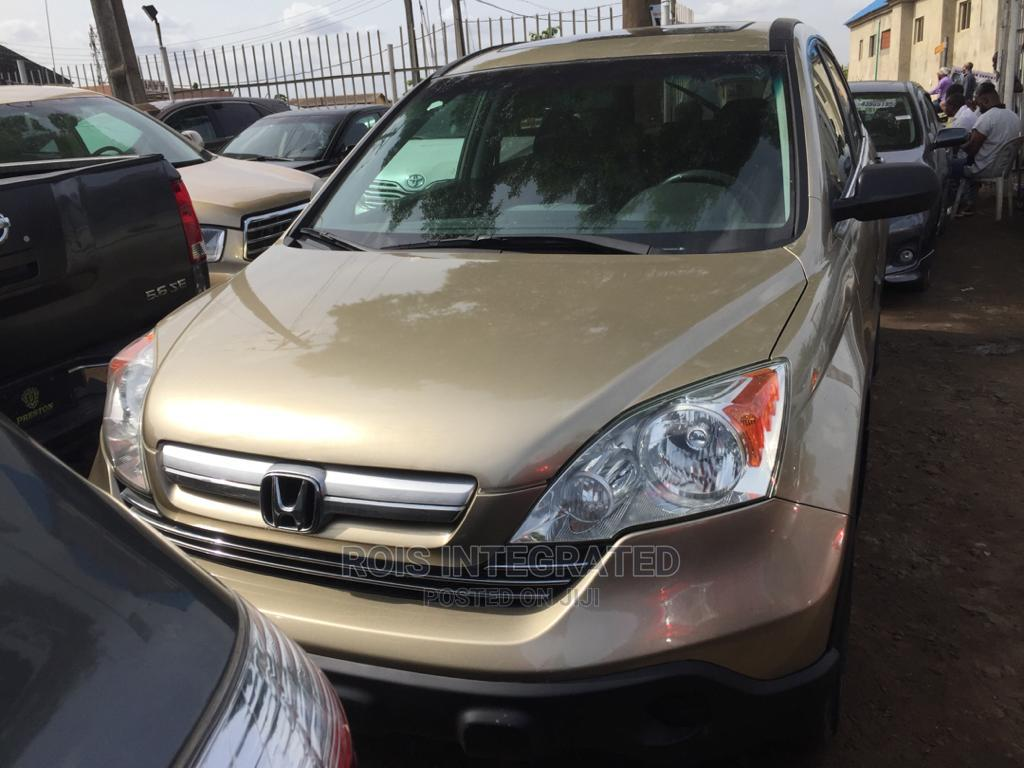 Honda CR-V 2008 Gold | Cars for sale in Isolo, Lagos State, Nigeria