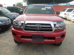 Toyota Tacoma 2009 Double Cab V6 Automatic Red | Cars for sale in Lagos State, Ojodu