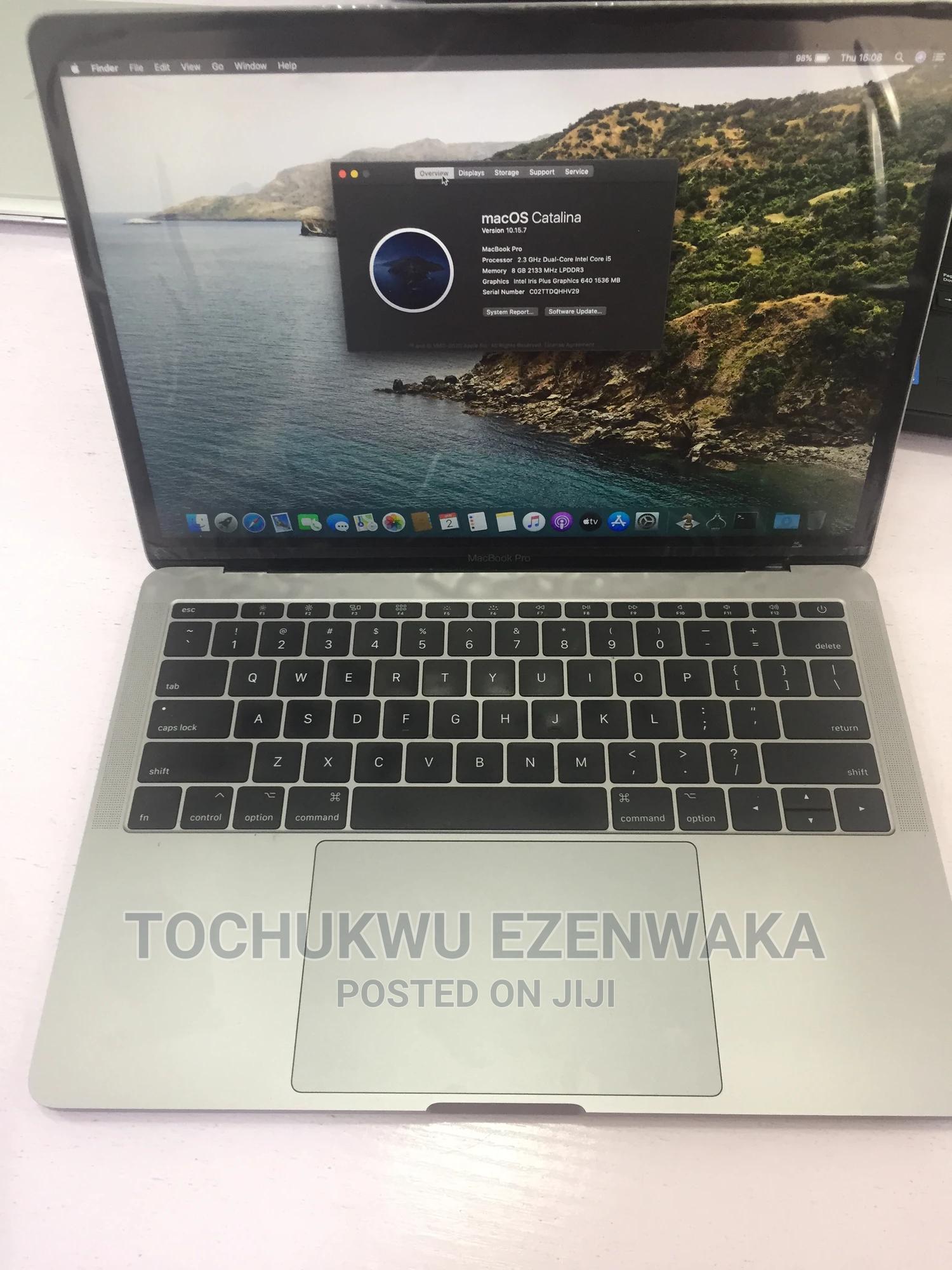 Laptop Apple MacBook Pro 2017 8GB Intel Core I5 SSD 256GB