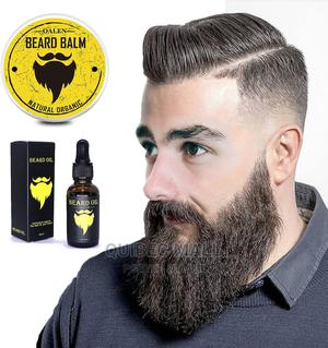 Luxfume Men Moustache Beard Care Kit Beard Oil Beard Cream | Hair Beauty for sale in Lagos State, Agboyi/Ketu