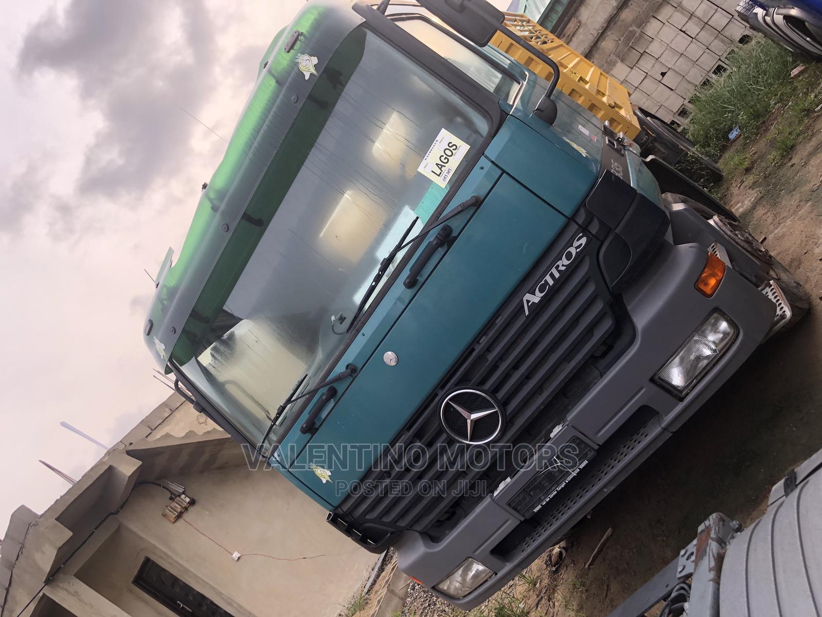 Archive: Mercedes-Benz Actros MP1