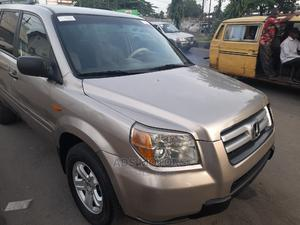 Honda Pilot 2006 EX-L 4x4 (3.5L 6cyl 5A) Gold | Cars for sale in Lagos State, Surulere