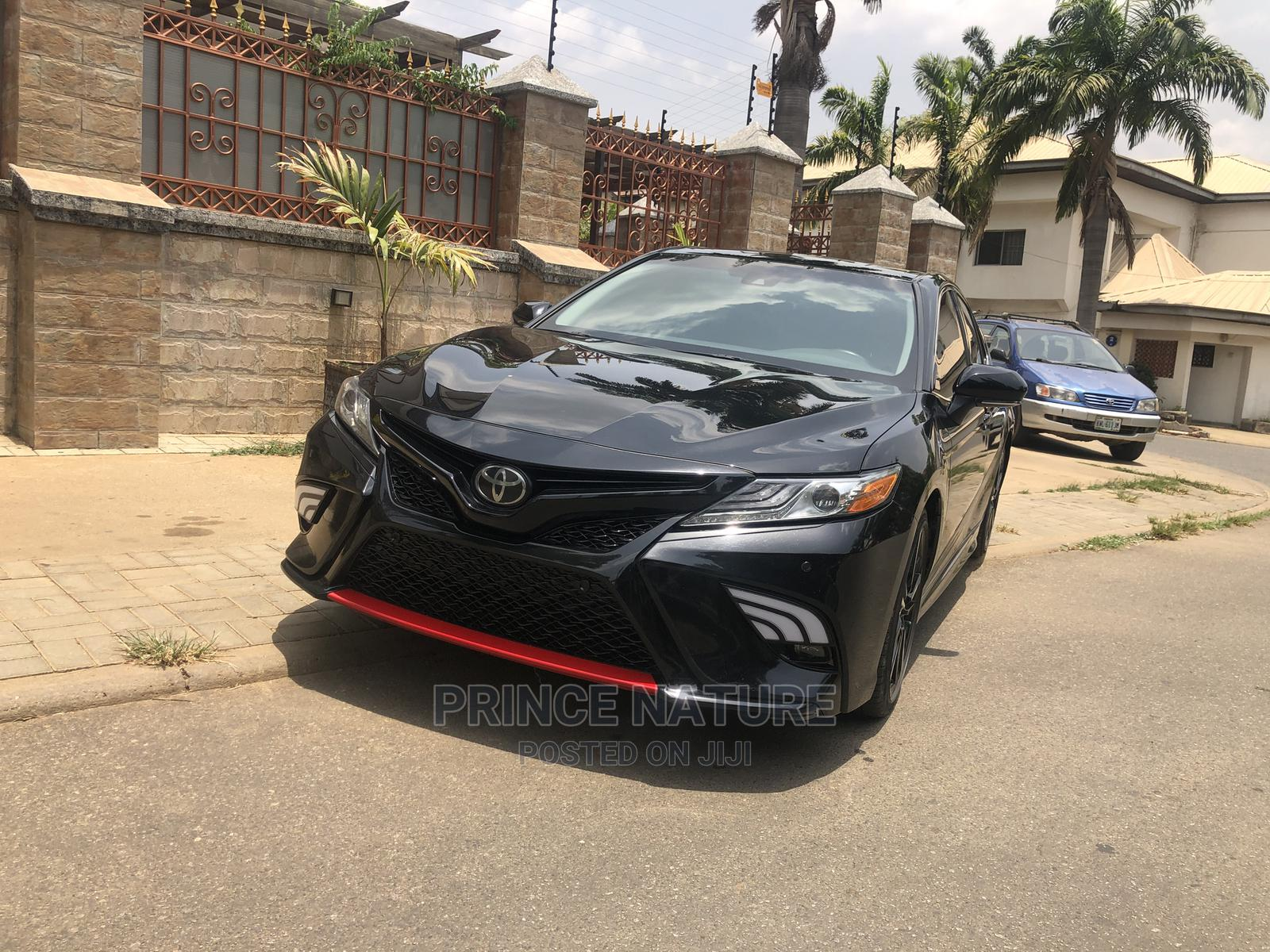 Toyota Camry 2019 XSE (2.5L 4cyl 8A) Black