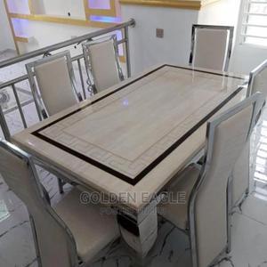 6seater Marble Dinning   Furniture for sale in Lagos State, Lagos Island (Eko)