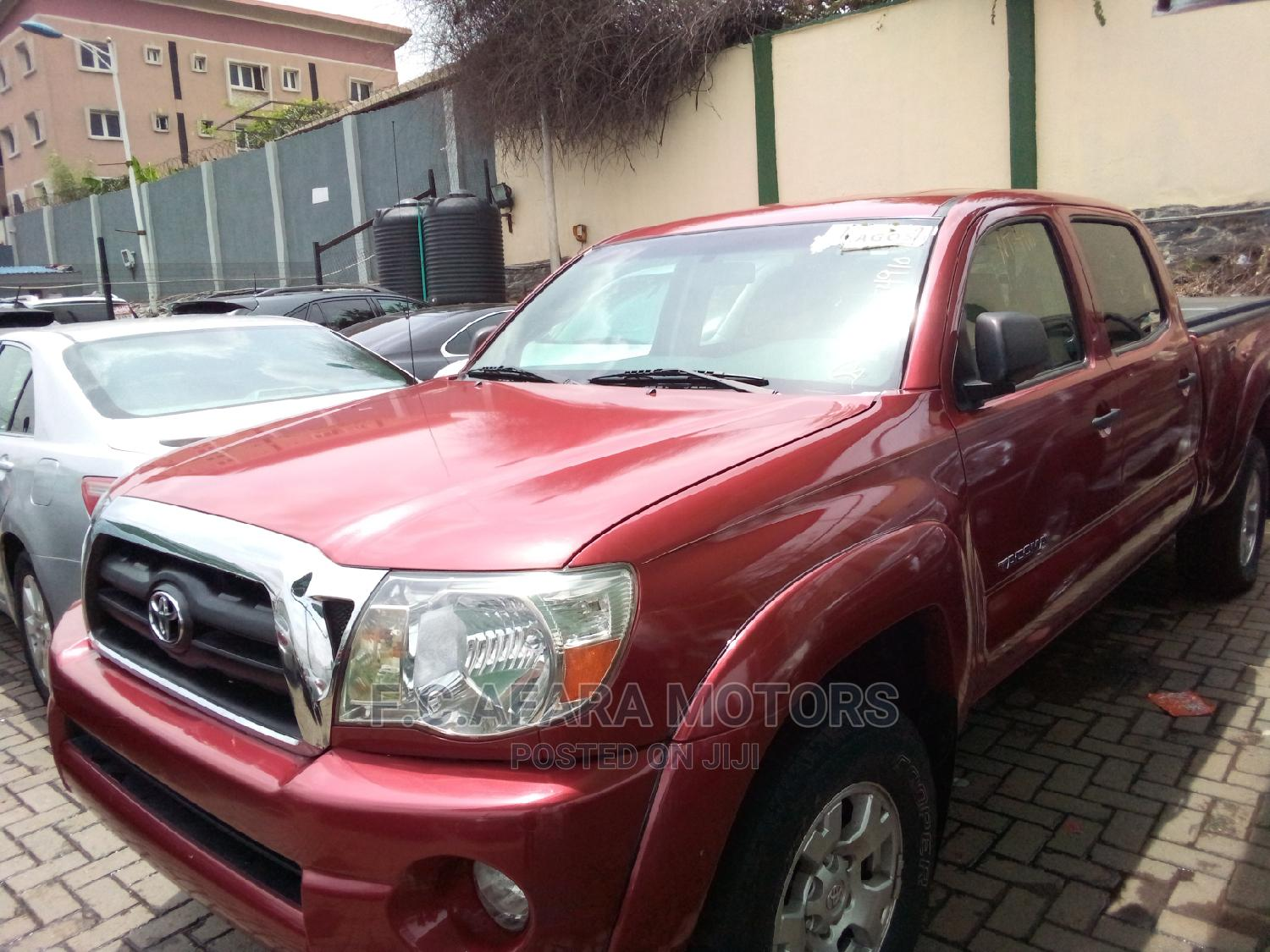 Toyota Tacoma 2006 Red | Cars for sale in Ojodu, Lagos State, Nigeria