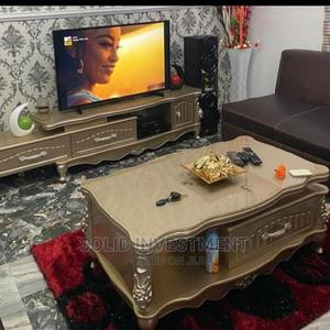 Quality Portable Royal Adjustable TV Stand and Center Table   Furniture for sale in Lagos State, Ikeja