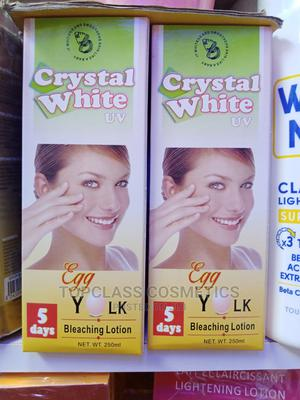 Crystal White Egg Yolk Lotion | Skin Care for sale in Lagos State, Amuwo-Odofin