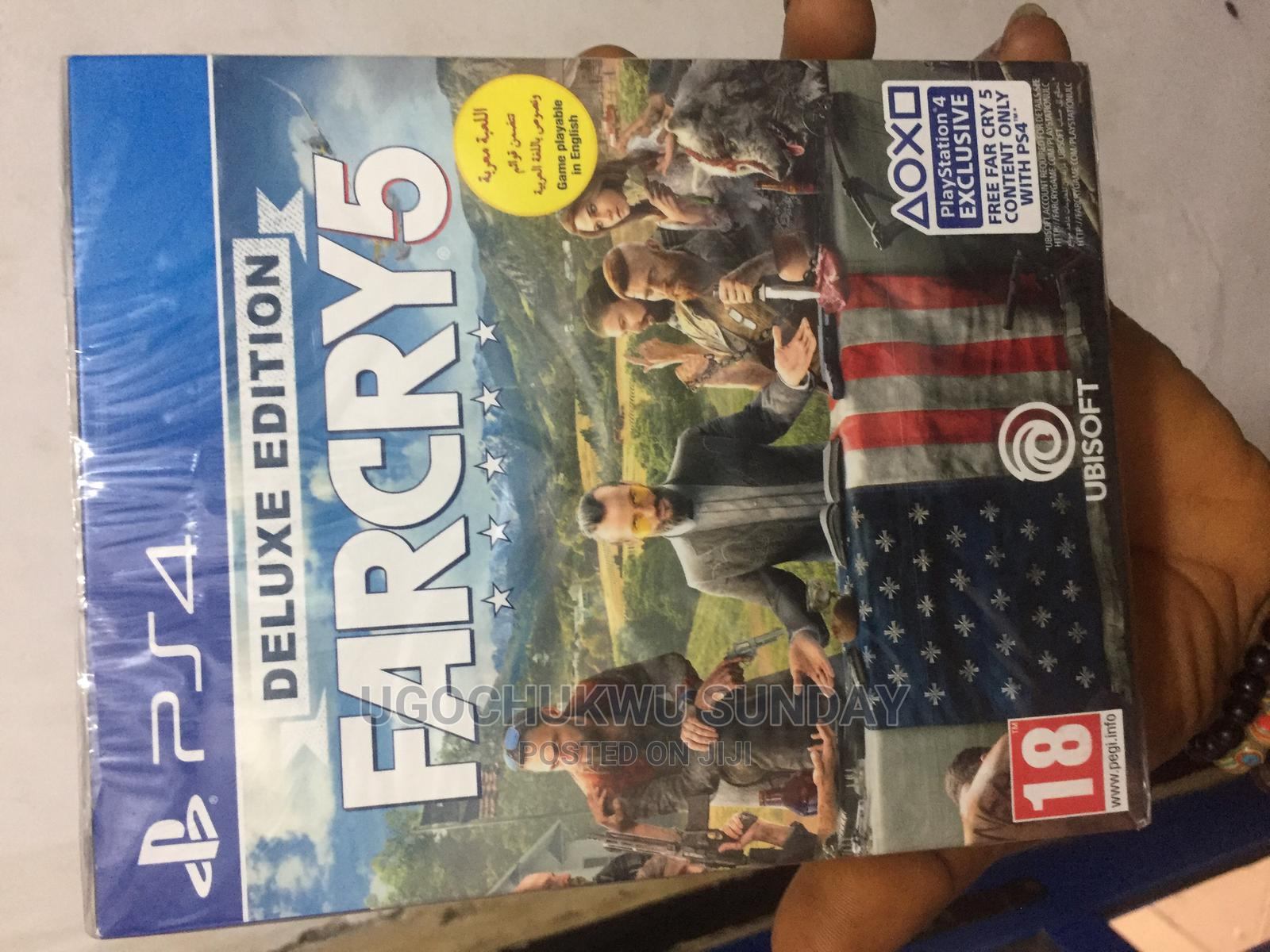 FARCRY5 Playstation 4 Video Game