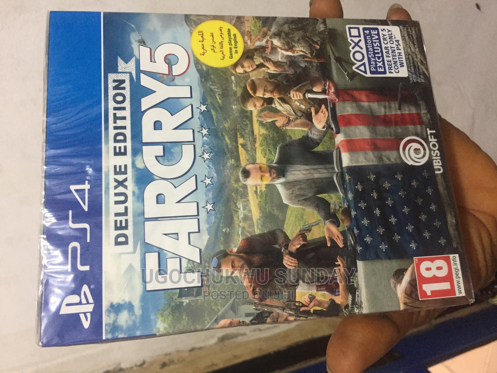 FARCRY5 Playstation 4 Video Game   Video Games for sale in Ikeja, Lagos State, Nigeria
