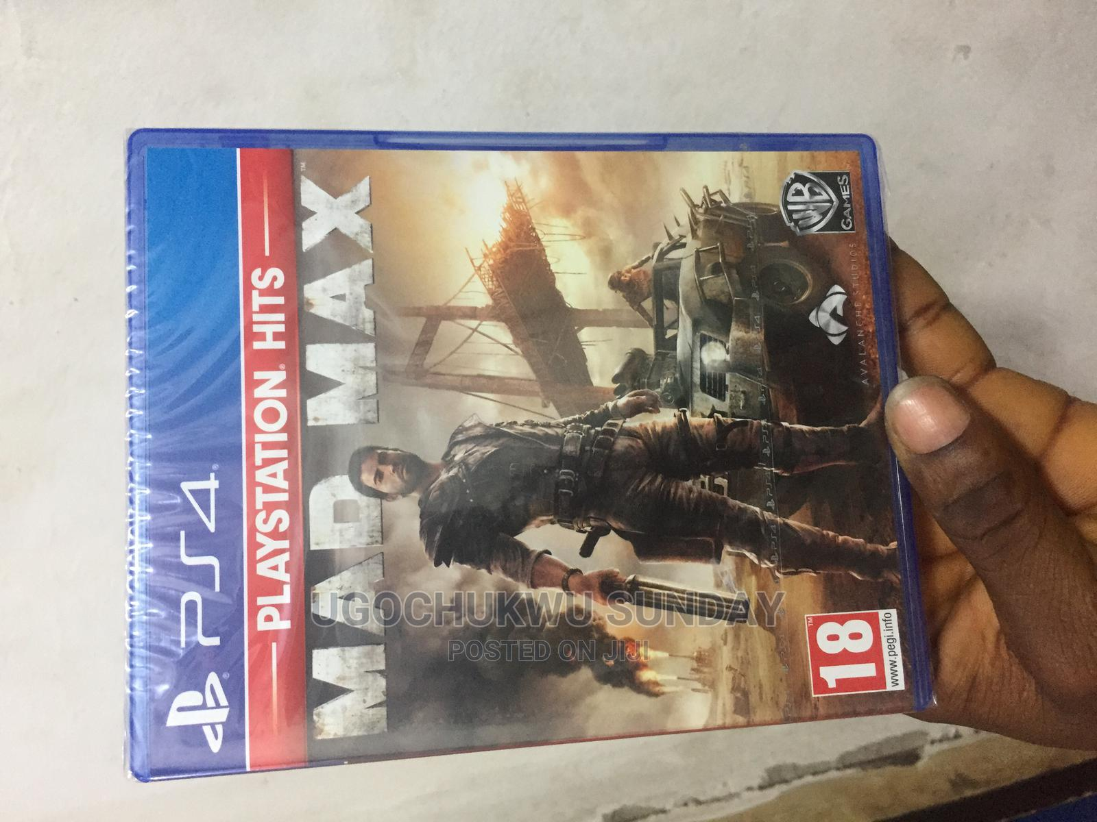 MAD MAX Video Game Playstation 4   Video Games for sale in Ikeja, Lagos State, Nigeria