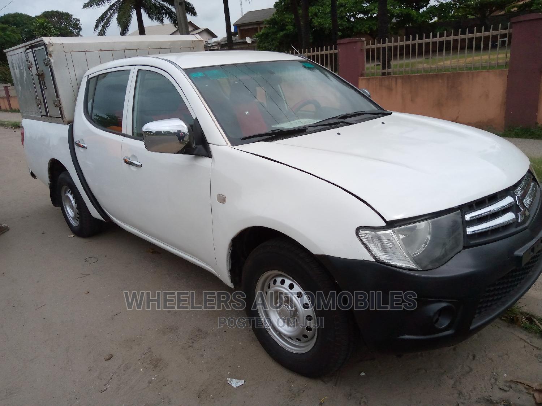 Mitsubishi L200 2013 White   Cars for sale in Amuwo-Odofin, Lagos State, Nigeria