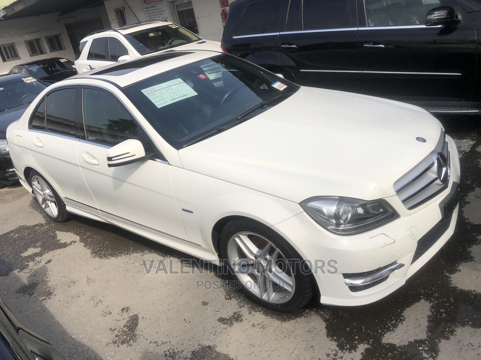 Archive: Mercedes-Benz C350 2013 White