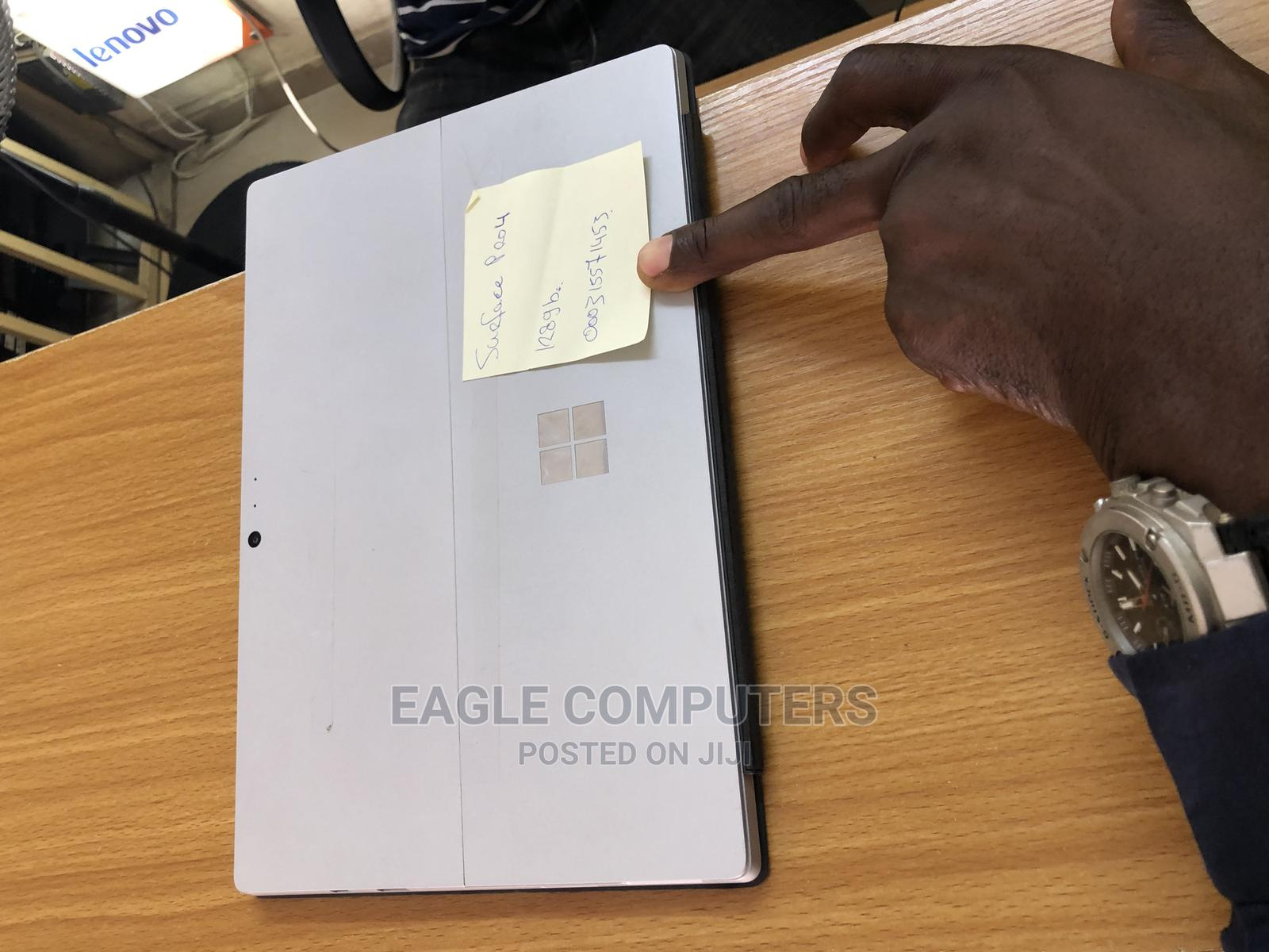 Laptop Microsoft Surface Pro 4 8GB Intel Core I5 SSD 128GB   Laptops & Computers for sale in Wuse 2, Abuja (FCT) State, Nigeria