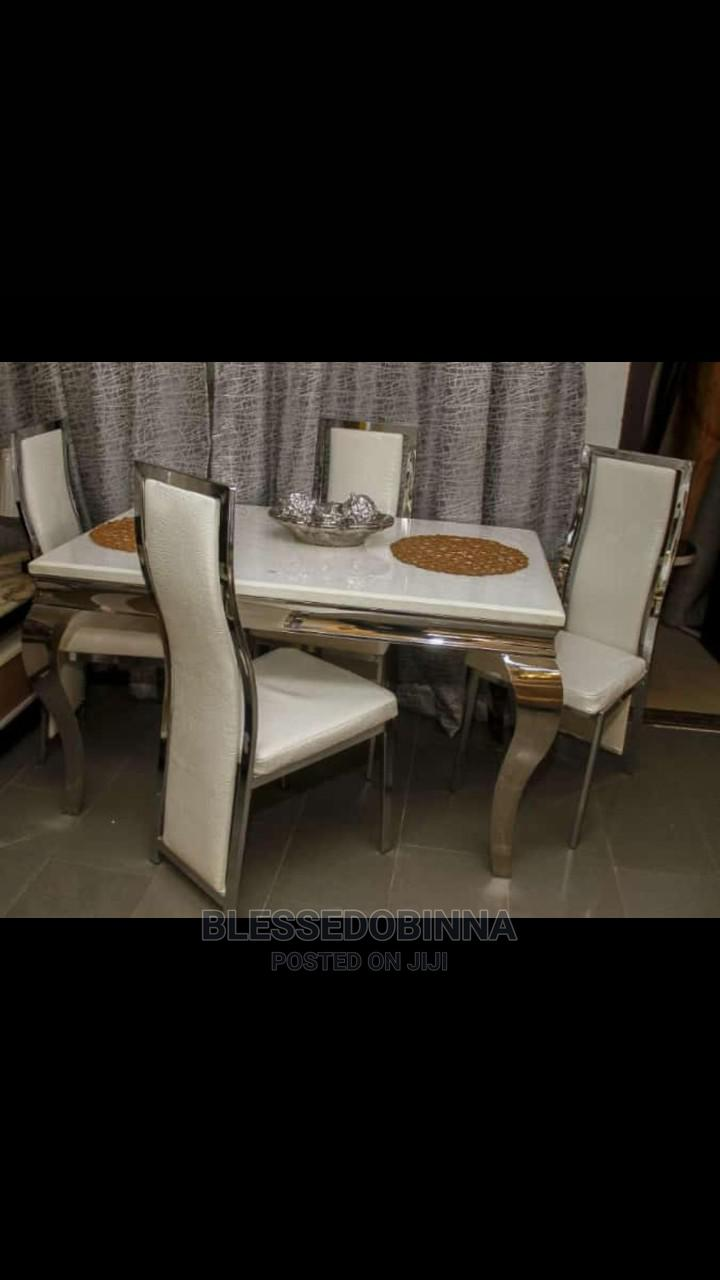 Imported Marble Dining Table 4 Seater