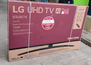 """✓LG 65"""" UHD 4K Smart Webos AI Thinq TV + Magic Remote +Wi-Fi   TV & DVD Equipment for sale in Lagos State, Ojo"""