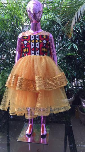 Ankara Short Ball Dress   Children's Clothing for sale in Lagos State, Lekki