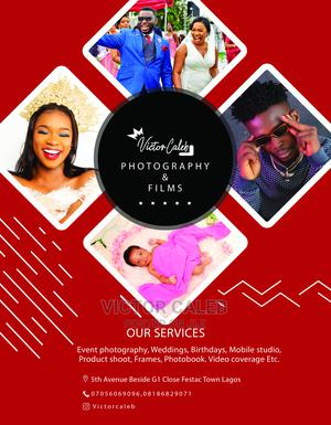 Professional Wedding and Studio Photographer | Photography & Video Services for sale in Lagos State, Amuwo-Odofin
