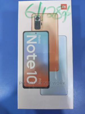 New Xiaomi Redmi Note 10 Pro 128 GB Gold   Mobile Phones for sale in Abuja (FCT) State, Wuse 2