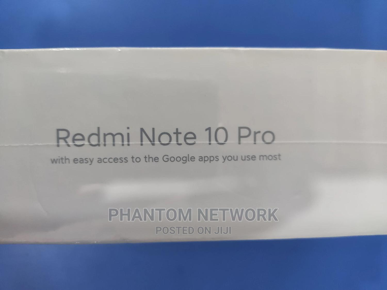 New Xiaomi Redmi Note 10 Pro 128 GB Gold   Mobile Phones for sale in Wuse 2, Abuja (FCT) State, Nigeria