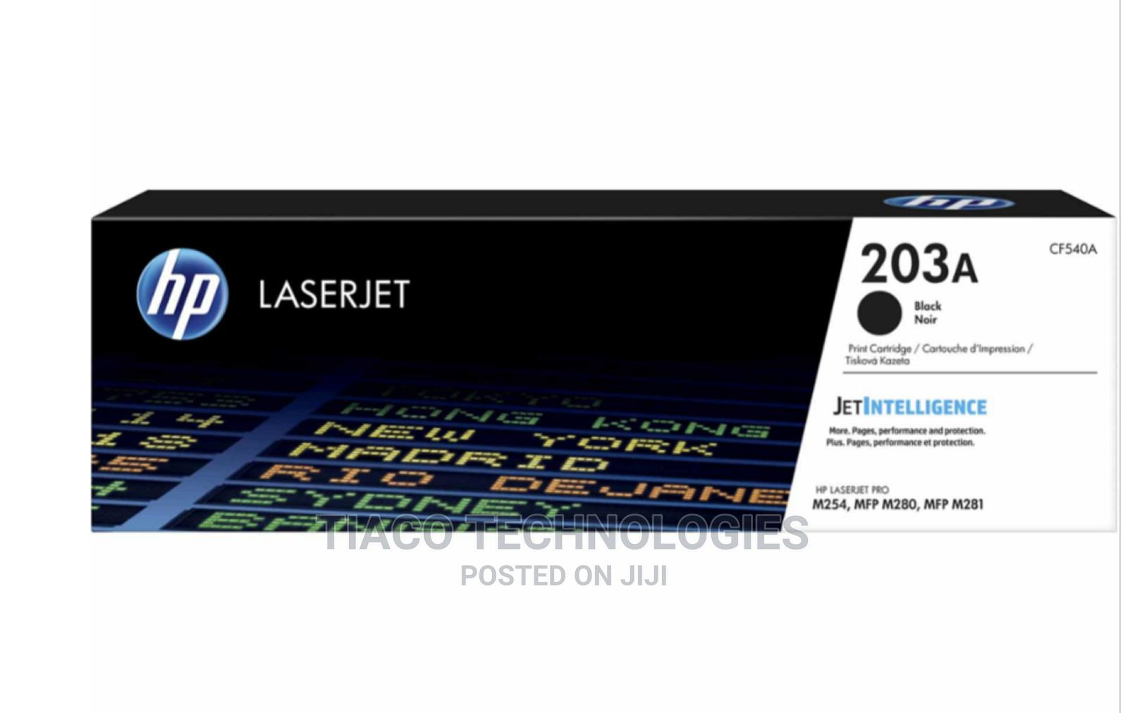 Archive: HP 203A Black Original Laserjet Toner Cartridge