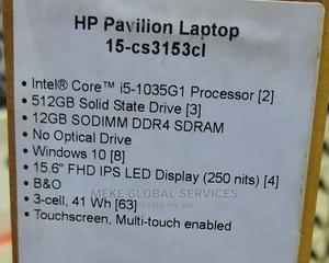 New Laptop HP Pavilion 15 12GB Intel Core I5 SSD 512GB   Laptops & Computers for sale in Lagos State, Ikeja