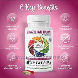 Belly Fat Burner 120capsule   Vitamins & Supplements for sale in Lagos State, Lekki