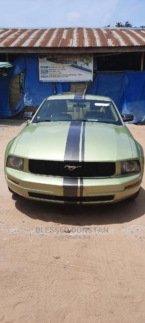 Ford Mustang 2005 Automatic Green | Cars for sale in Lagos State, Amuwo-Odofin